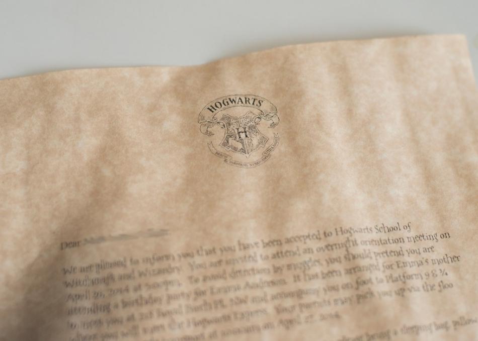 harry potter invitations calgary photography