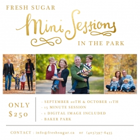 calgary family photography mini sessions