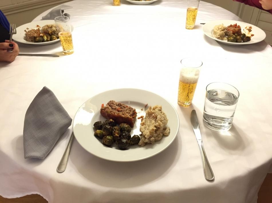 josh's birthday dinner