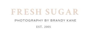 Fresh Sugar – photography by Brandy Kane logo